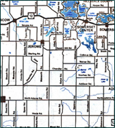 Hillsdale County Map